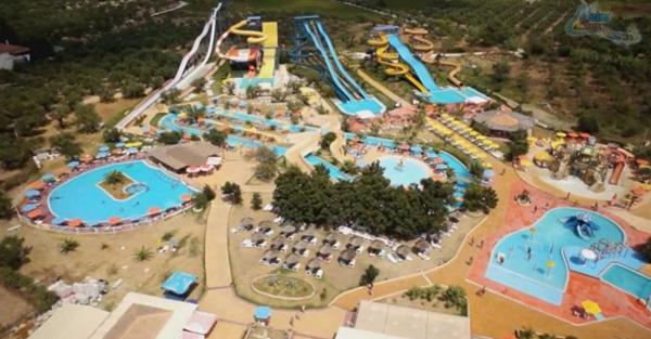 Aqua park iz vazduha